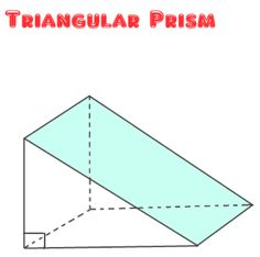 This Site Contains Triangular Prism Net Examples On How To Find Its Volume And Surface Area Fractions Worksheets Cool Math 4 Kids