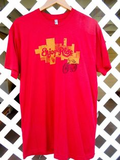 NEW BELGIUM BREWING ENJOY THE RIDE Graphic T Shirt Men's XL Short Sleeve Red #AmericanApparel #GraphicTee Sold