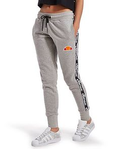 Old school swagger with a modern day twist, these exclusive women's Tape Fleece Pants from Ellesse are laid-back essentials built for chilling out in. In a classic athletic grey colourway, branded taping down the legs add retro style straight out of the '90s. With ankle cuffs for snug comfort, two side seam pockets make these perfect for relaxing in, while Ellesse's legendary logo adds the finishing touch. Note: Sizes 4 and 6 do not feature a drawstring to the waist. ...