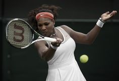 Serena Williams Nike tennis outfit for #Wimbledon Grand Slam #tennis #SerenaWilliams