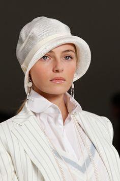 Spring-Summer 2012 cloche hat Ralph Lauren collection