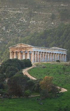 Aggrigento, Sicily, Italy - the most intact remain of the Greek Temples