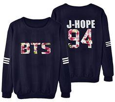 KPOP BTS Sweater Monster JIN SUGA JIMIN V Hoodie Unisex Sweatershirt - http://darrenblogs.com/2016/05/kpop-bts-sweater-monster-jin-suga-jimin-v-hoodie-unisex-sweatershirt/