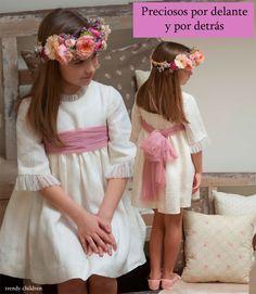 VESTIDOS DE CEREMONIA PRECIOSOS POR DELANTE Y POR DETRÁS | trendy children blog de moda infantil