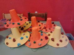 Μεξικάνικα καπελα Carnival Crafts, Cake, Creative, Carnival, Food Cakes, Cakes, Tart, Cookies, Torte
