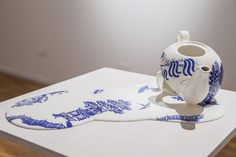 Livia Marin Everyday Objects, Deconstruction, Essie, Marines, Ceramics, Projects, Porcelain, Decorating, Patterns