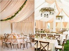 30 Chic Wedding Tent Decoration Ideas - Page 2 of 2 - Deer Pearl Flowers