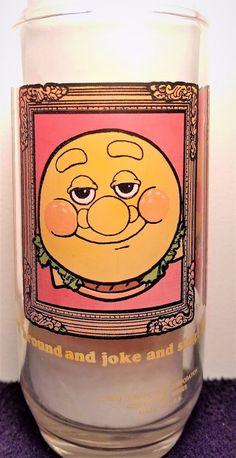 Burger King Characters - Vintage 1979 - The Burger Thing - Burger King Glass #BurgerKing