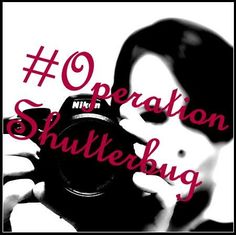 #OperationShutterbug - a weekly photography assignment/challenge. Join us! #Photography