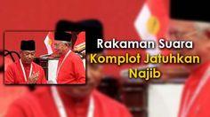 Rakaman Suara Komplot Jatuhkan Najib   Audio Rakaman Suara Komplot Jatuhkan Najib | PETALING JAYA 17 Mac: Satu rakaman suara yang menjadi viral di media sosial mengesahkan kewujudan konspirasi untuk menjatuhkan pimpinan Datuk Seri Najib Razak.  Rakaman audio yang menampilkan suara mirip bekas Timbalan Perdana Menteri Tan Sri Muhyiddin Yassin itu dipercayai dirakam dalam satu majlis tertutup sebelum beliau digantung jawatan dalam Umno.  Pada awal video tersebut terdapat montaj yang bertulis…