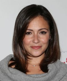 Italia Ricci Medium Straight Hairstyle. Try on this hairstyle and view styling steps! http://www.thehairstyler.com/hairstyles/formal/medium/straight/italia-ricci