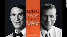 Bill Nye Debates Ken Ham on Creationism Versus Evolution