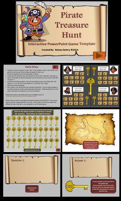 Pirate treasure hunt powerpoint game template golden key pirate pirate treasure hunt powerpoint game template toneelgroepblik Choice Image