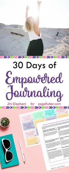 Empowerment journaling prompts to add to your bullet journal!