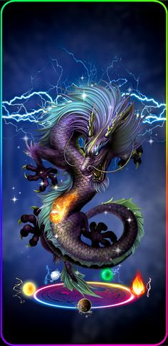 Magic chinese dragon - Famous Last Words Mythical Creatures Art, Magical Creatures, Fantasy Creatures, Dragon Tattoo For Women, Dragon Tattoo Designs, Arte Digital Fantasy, Arrow Tattoo, Chinese Dragon Tattoos, Chinese Dragon Art