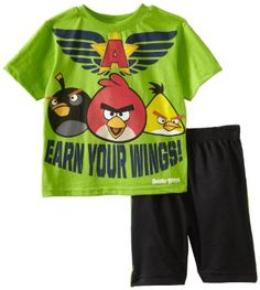 Angry Birds Boys Clothes