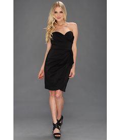 Maggy London Taffeta Side Bow Dress