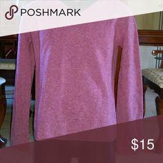 Sweater DKNY wool purple sweater DKNY Essentials Sweaters V-Necks