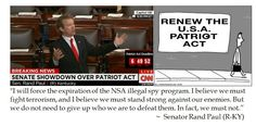 Rand Paul on the Patriot Act