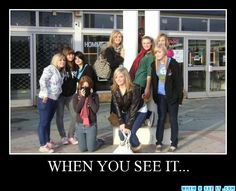- WHEN YOU SEE IT... you will be freaked out. Count on it.