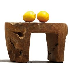 Beistelltisch Kawo, Teak rustikal - Jan Kurtz Möbel #rustic #folksy #sidetable #stool