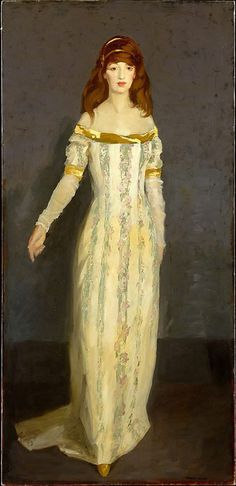 Robert Henri (American, 1865–1929)   The Masquerade Dress   1911 - Metropolitan Museum of Art