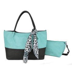 44120ee863 Snakeskin pattern design Asami - Ladies fashion light green shoulder bag