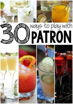 Get ready, because this ain't your mamma's margarita. Flexible, smooth, and with a hint of bite, I love every one of these 30+ Patron Recipes.