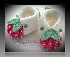 """""""Homemade baby booties are perf"""", """"This post was discovered by Ümr"""", """"Items similar to Handmade knitting baby slippers \""""Adidas\"""" pair) on Etsy"""", """"These are knit, but it does give me the idea that I can work out for crochet also. Baby Booties Knitting Pattern, Crochet Baby Shoes, Crochet Baby Booties, Baby Knitting Patterns, Baby Patterns, Crochet Patterns, Knitted Baby, Diy Crafts Knitting, Knitting For Kids"""