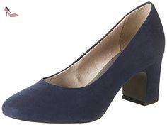 Tamaris 22458, Escarpins Femme, Bleu (Navy 805), 37 EU - Chaussures tamaris (*Partner-Link)
