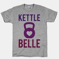 Kettle Belle T-Shirt Camisetas Divertidas 456bd69fddd7c