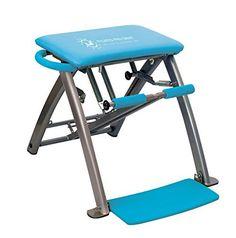 Pilates PRO Chair by Life's A Beach (Blue) - http://www.exercisejoy.com/pilates-pro-chair-by-lifes-a-beach-blue/pilates/