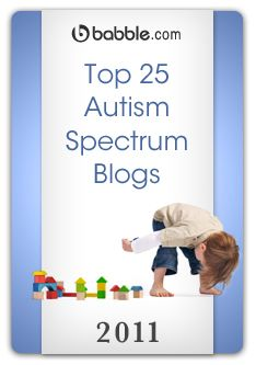 link to 25 autism spectrum blogs