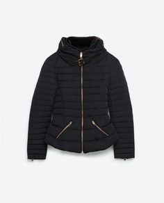SHORT ANORAK-Quilted Coats-OUTERWEAR-WOMAN | ZARA United States