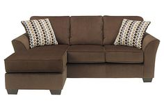 Brown chaise lounge with couch for your living room furniture View 2  sc 1 st  Pinterest : circa taupe sofa chaise - Sectionals, Sofas & Couches
