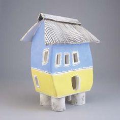 ceramic houses - Beach Fun !!