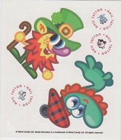 Topps Moshi Monsters Children's Temporary Tattoos - Series 2 - Set No. 34 by Topps. $2.98. Get the tattoos you want by buying the exact sheet. 36 different sets to collect. Temporary Tattoos for ages 4+. There are 36 different tattoo sets to collect. Avoid buying duplicates by selecting the exact set you want and get your fav Moshlings now.
