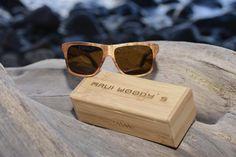 Maui Woody's wood sunglasses. Photo courtesy of Maui Woody's. | HAWAII Magazine