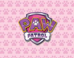 PRINTED Girl Paw Patrol Birthday Party Backdrop by altagraphics