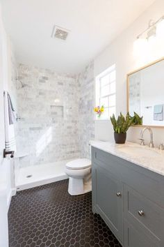 White Bathroom Ideas - Discover the leading finest white bathroom ideas incl. - White Bathroom Ideas – Discover the leading finest white bathroom ideas including unique fauc - White Bathroom, Master Bathroom, Shower Bathroom, Bathroom Vintage, Neutral Bathroom, Simple Bathroom, Diy Shower, Bathroom Small, Bathroom Marble