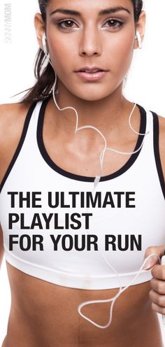 Jam to these tunes on your next run!  Check out this running playlist.