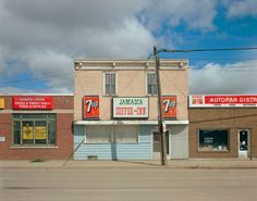 Stephen Shore, Dewdney Avenue, Regina, Saskatchewan, August 17, 1974