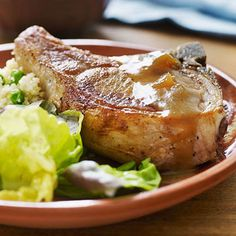 Chutney Pork Chops and Couscous - FamilyCircle.com