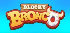Blocky Bronco per iOS e Android - il toro meccanico vi aspetta!