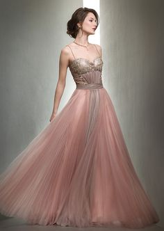 Cabaret Vintage - Long Mignon Evening Gown Dusty Pink - VM1158, $795.00 (http://www.cabaretvintage.com/long-evening-dresses/long-mignon-evening-gown-dusty-pink-vm1158/)