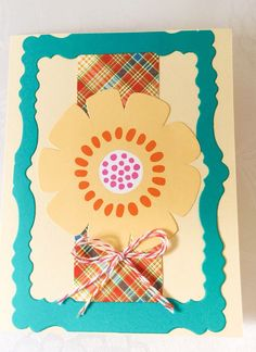 A personal favorite from my Etsy shop https://www.etsy.com/listing/270185600/hand-made-cards-large-flower-soft-yellow