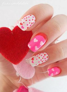 Editor's Pick: Valentine's Day Inspired Nail Designs
