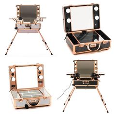 Makeup Stations With Built in Bluetooth Speakers 🔊 💄 online Bluetooth Speakers, Building, Makeup, Instagram Posts, Make Up, Buildings, Beauty Makeup, Construction, Bronzer Makeup