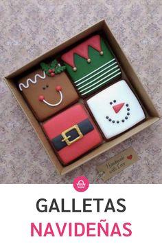 Christmas Cookies Packaging, Christmas Sugar Cookies, Christmas Cupcakes, Christmas Sweets, Holiday Cookies, Christmas Desserts, Simple Christmas, Royal Christmas, Christmas Mix