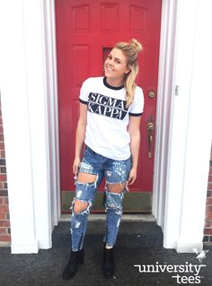 #OOTD, but everyday | Sigma Kappa | Made by University Tees | www.universitytees.com